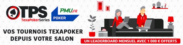 TPS Online sur PMU poker